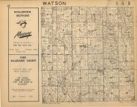 Watson T2N-R12W, Allegan County 1954